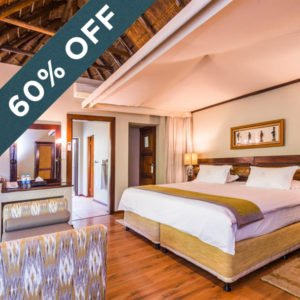 Save with 60% off at Ivory Tree Game Lodge!