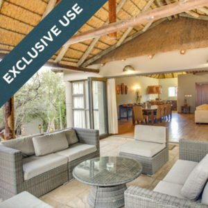 An excellent deal on a private villa at Ivory Tree Game Lodge!