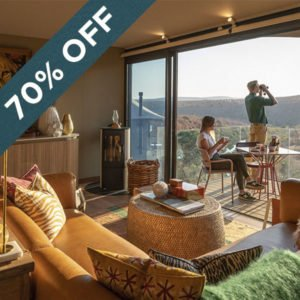 Save an astounding 70% at the magnificent Noka Camp at Lepogo Lodge!