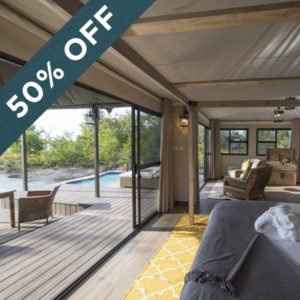 Get 50% off when staying at The Old Drift Lodge at the Victoria Falls!