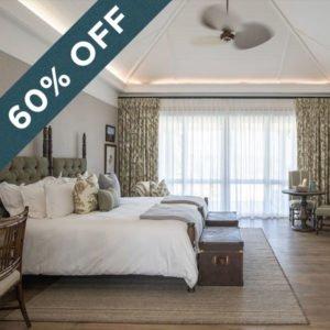 Save 60% at the stunning Long Lee Manor at Shamwari Private Game Reserve