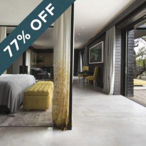 Save an amazing 77% at Silvan Safari Lodge!