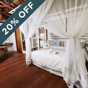 Get 20% off at the idyllic Vilanculos Beach Lodge