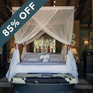 Save an incredible 83% at Jabulani Safari Lodge!