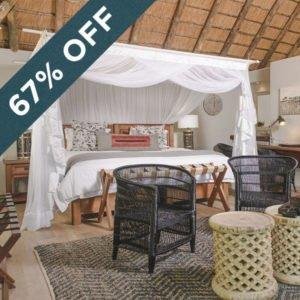 Save 67% at Karongwe River Lodge!