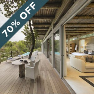 Save 70% at the fabulously luxurious Kapama Karula!