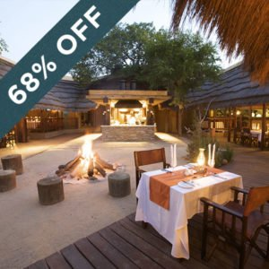 Save 68% when staying at the magical Kapama River Lodge!