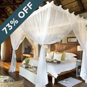 Save 73% at the fabulous Lion Sands Narina Lodge!