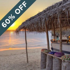 Save 60% at the magnificent Azura Benguerra Island Resort