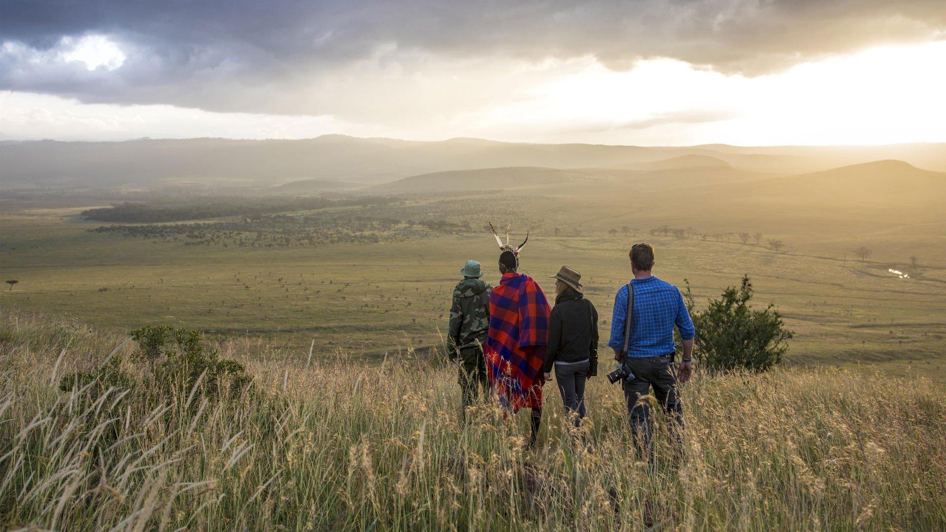 The breathtaking views from Sirikoi Lodge